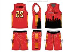New Men Basketball Jersey Sets Uniforms Sports Clothing Bask