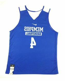 New Nike Men's L Memphis Tigers Reversible Elite Basketball