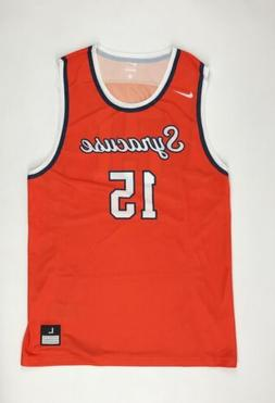 New Nike Men's L Syracuse Throwback Hyper Elite Basketball J
