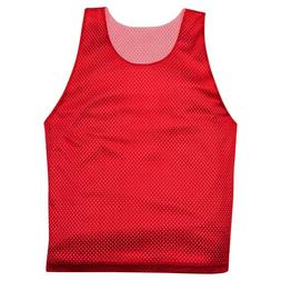 NEW! Men Women Reversible Practice Pinnie Jersey Basketball