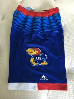 NEW Mens ADIDAS Kansas Jayhawks NCAA Basketball Jersey Style
