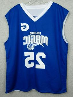 New Orlando Magic 2XL Reversal Basketball Jersey Reversible