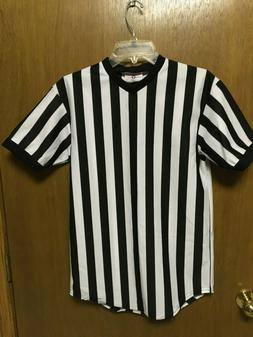 NEW Teamwork Basketball Official's Jersey Black/White REFERE