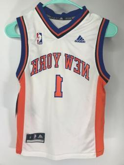 New York Knicks #1 Amar'e Stoudemire NBA Adidas Youth Basket