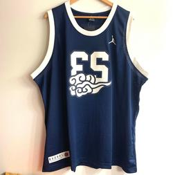 Nike Air Jordan International Flight Basketball Jersey Size