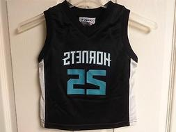 NWOT Charlotte Hornets NBA Al Jefferson # 25 Children 4T Bas