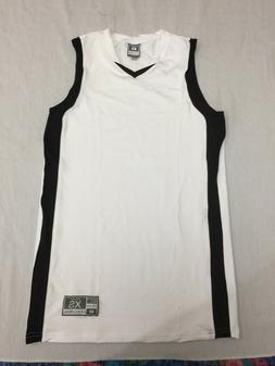 NWOT HOLLOWAY MENS BASKETBALL ATHLETIC STRETCH JERSEY SHIRT