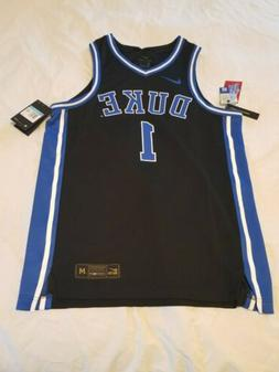 nwt duke blue devils elite 1 black