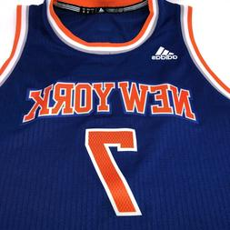 NWT Knicks #7 Carmelo Anthony Stitched Basketball Adidas Jer