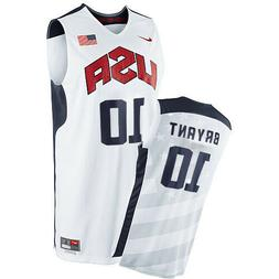 nwt kobe bryant 10 team usa stitched