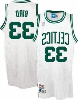 NWT Larry Bird #33 Boston Celtics Hardwood Classic Stitched