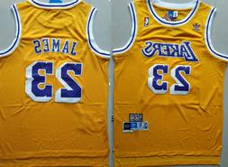 NWT LeBron James #23 Los Angeles Lakers Classic Stitched Bas