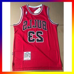 NWT Michael Jordan #23 Chicago Bulls Stitched Retro Basketba