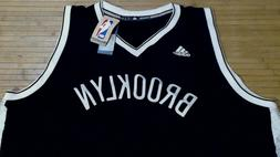 NWT Adidas NBA Brooklyn Nets S Swingman Black Blank Basketba