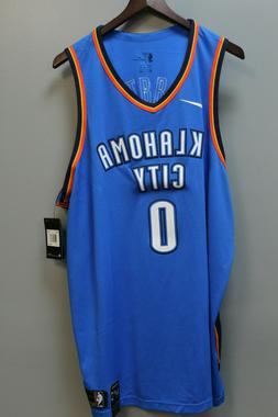Nike Oklahoma City Thunder Russell Westbrook # 0  Jersey Col