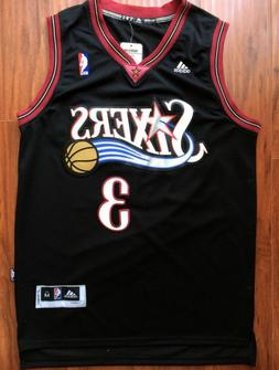 Philadelphia 76ers Allen Iverson Basketball Jersey Throwback