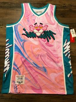 Pink Panther Miami Vice Marble Authentic Basketball Jersey H