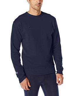 Champion Men's Powerblend Sweats Pullover Crew Navy S