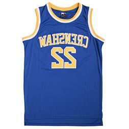 Quincy McCall 22 Blue Basketball Jersey