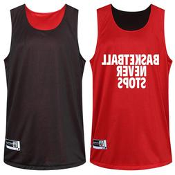 Reversible Men's <font><b>Basketball</b></font> Double-sided