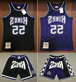 Sacramento Kings Basketball Shorts with Pockets Jason Willia