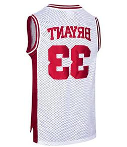 RAAVIN Mens #33 High School Basketball Jersey Bryant Basketb