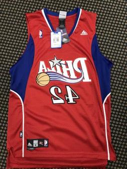 sixers basketball jersey brand 42 mens size