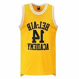 MOLPE Smith #14 Bel Air Basketball Jersey S-XXXL Yellow L