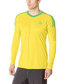 adidas Men's Soccer Revigo 17 Goalkeeper Jersey, Bright Yell