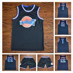 Space Jam Tune Squad Basketball Jersey Black Stitched Jersey