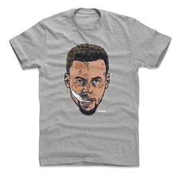 500 LEVEL Steph Curry Cotton Shirt Large Heather Gray - Vint
