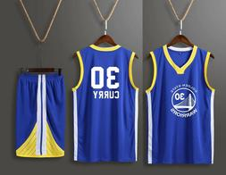 Stephen Curry #30  KIDS BOY Children / Youth BASKETBALL JERS