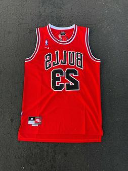 NEW Throwback Basketball Jersey MICHAEL JORDAN #23 Chicago B