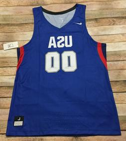 Nike Team USA Mens Basketball Jersey Stitched RARE Sample NW