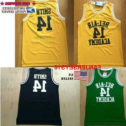 The Fresh Prince of Bel air Jersey #14 will smith Basketball
