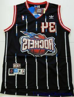 Throwback Basketball Jersey HAKEEM OLAJUWON 34 Houston Rocke