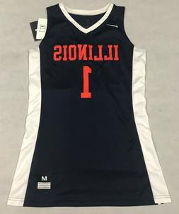 NIKE WOMENS MEDIUM FASTBREAK ILLINOIS ILLINI BASKETBALL JERS