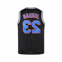 WELETION Youth 23 Space Moive Jersey Kids Basketball Jersey
