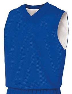 Teamwork Youth Fadeaway Reversible Basketball Jersey, Large/