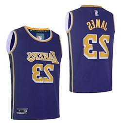 OuterStuff Youth Los Angeles Lakers #23 LeBron James Kids Ba