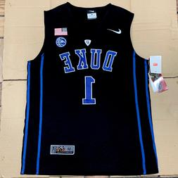 Zion Williamson Elite Duke Black Devils Mens Basketball Stit