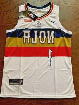 Zion Williamson New Orleans Pelicans White Stitched Jersey